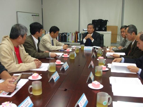 貴賓來訪理事長陳弘毅致詞