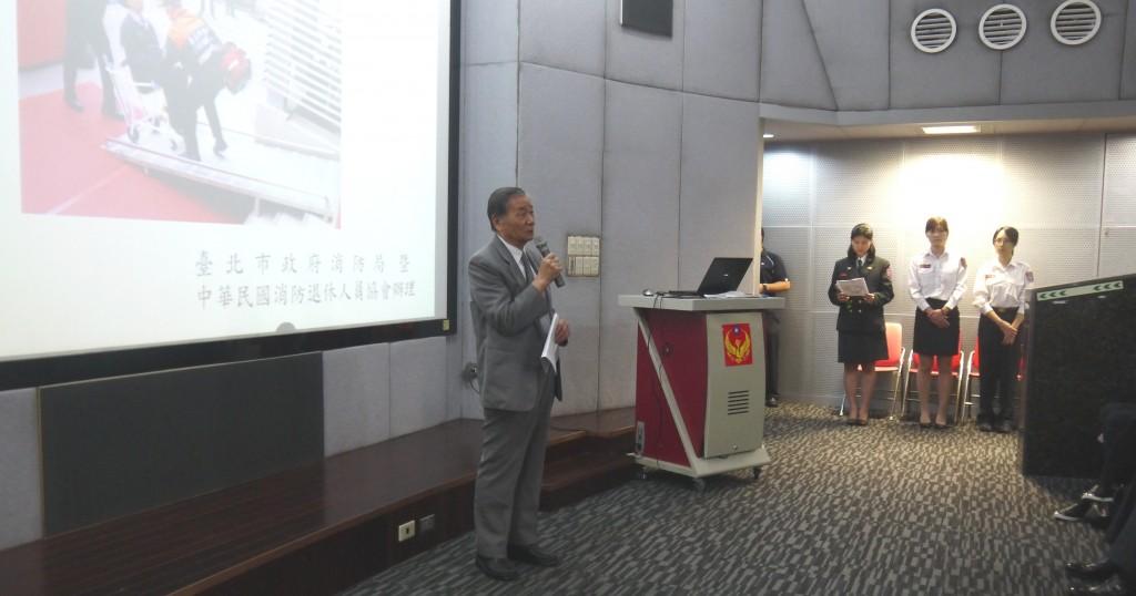 1研討會活動理事長陳弘毅致詞