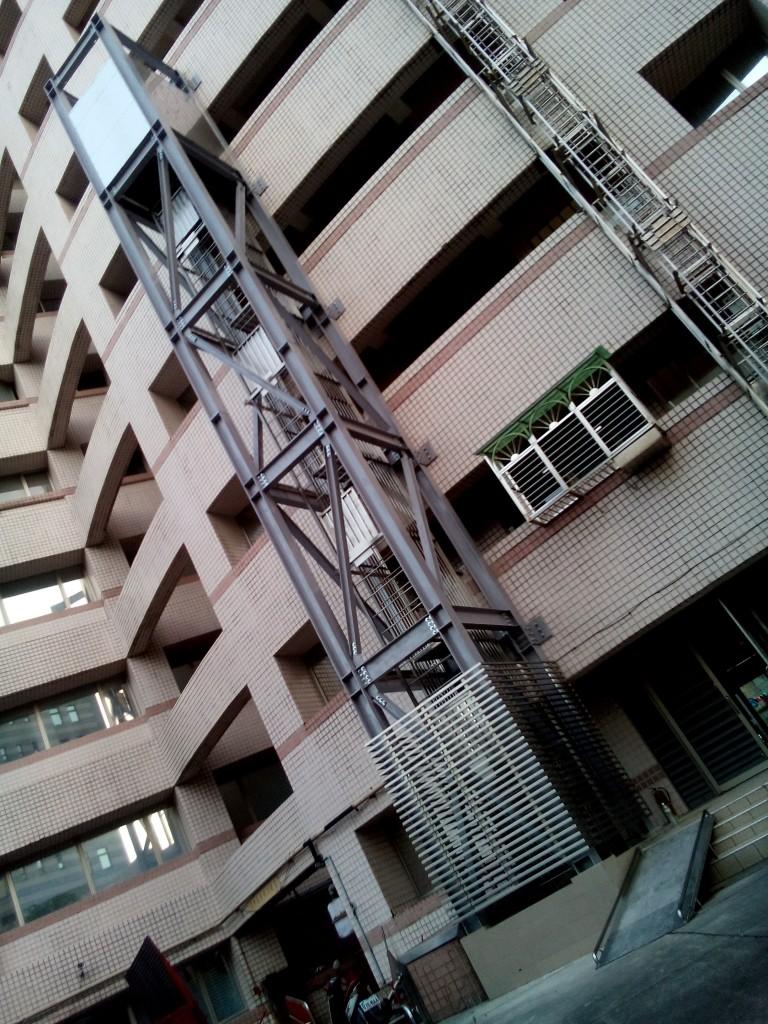 12.自走梯完成建置