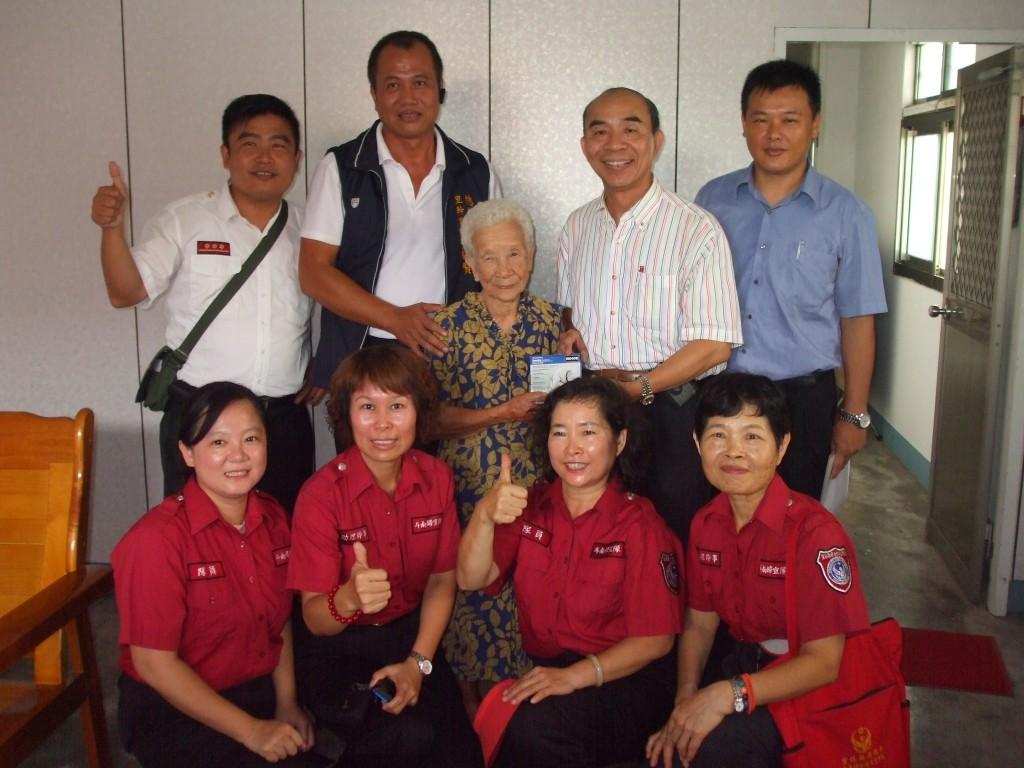 6月20日假雲林縣所轄住戶,致贈住宅火災警報器及安裝