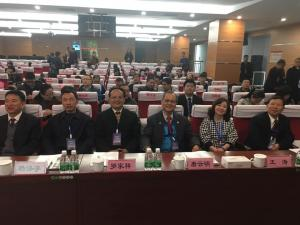 總會長唐雲明(右3)赴大陸出席『海峽兩岸校園安全暨應急管理學術研討會』