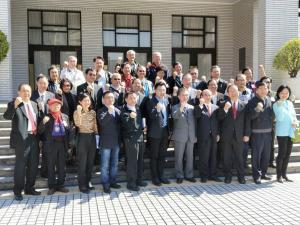 總會長唐雲明與相關學(協)會,拜訪立法院國民黨團