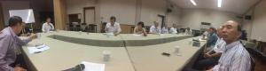 總會長率副總會長及秘書長假退警總會,出席『年金改革』會議2