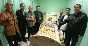 1.理事長陳弘毅率本總會幹部蒞臺大醫院慰問受傷同仁