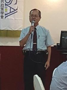 1.總會長唐雲明蒞學界菁英100論壇致詞