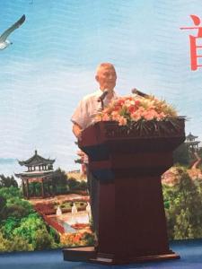 10.百歲人瑞張老先生為論壇獻詩— 溫州市