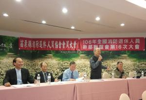 3主辦協會理事長林青致歡迎詞