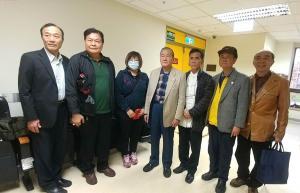 5.理事長陳弘毅率本總會幹部蒞馬偕醫院慰問受傷同仁